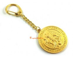 Producing Victory Medallion Keychain