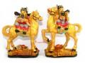 Prosperity Chinese Wealth Gods on Horse