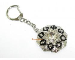 Radiating Abundance Amulet Keychain