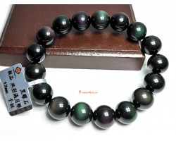 Rainbow Obsidian Crystal Bracelet