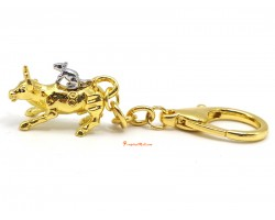 Rat-Ox Wealth Enhancer Perfect Partnerships Keychain