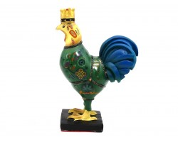 Rooster with Crown