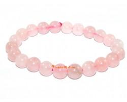 Rose Quartz Love Charm Bracelet