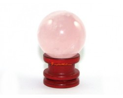 Crystal Ball - Rose Quartz