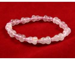 Rose Quartz Wu Lou Bracelet
