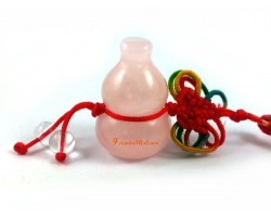 Rose Quartz Wulou Health Amulet