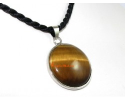 Round Tiger's Eye Pendant