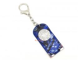 Scholastic Amulet Keychain (Blue)