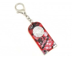 Scholastic Amulet Keychain (Red)