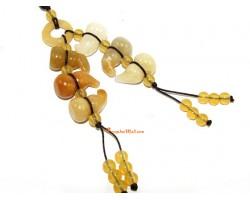 Six Yellow Jasper Feng Shui Wulou Hanging