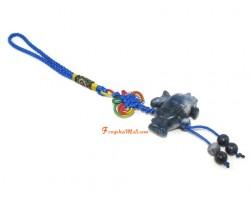 Blue Sodalite Bird on Rhinoceros Protection Hanging