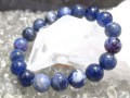 Sodalite Crystal Elastic Bracelet