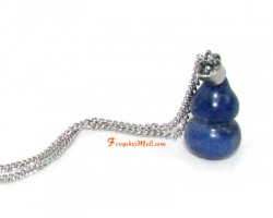 Sodalite Hulu Pendant for Health Luck