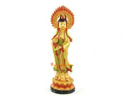 Standing Goddess of Mercy Kuan Yin
