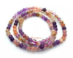 Super-8 3-Round Crystal Bracelet