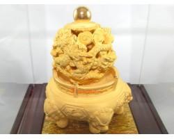 Supreme Five Dragons Feng Shui Golden Ball