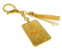 Tai Sui Amulet Keychain 2014