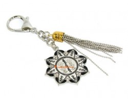 Ten Hum Protection Wheel Amulet Keychain