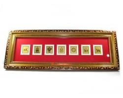 The Seven Royal Emblems Plaque