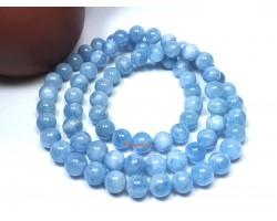 Top Grade Aquamarine 3-Round Bracelet