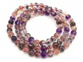 Top Grade Super Seven Gemstone 3-Round Bracelet (6.8mm)
