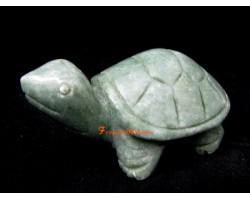 Mini Tortoise Jade Charm