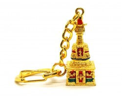 Treasure Chest Dharani Keychain