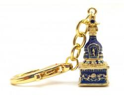 Treasure Chest Dharani Keychain (Blue)