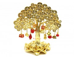 Tree Bringing 3 Kinds of Wealth