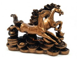 Two Running Horses for Accelerated Prosperity