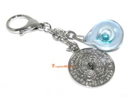 Water Crystal and Big Auspicious Mirror Talisman