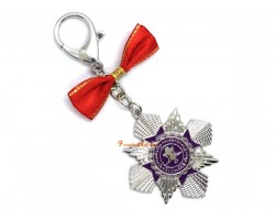 Wealth Activation Amulet Keychain