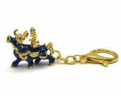 Wealth Bull For Attracting Immense Wealth & Big Auspicious Keychain