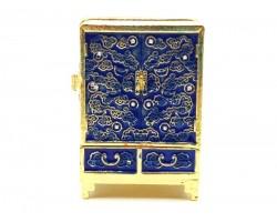 Wealth Cabinet in Blue