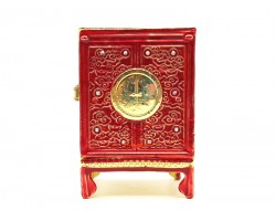 Wealth Cabinet in Red