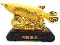 Wealth Inviting Golden Arowana Feng Shui Fish