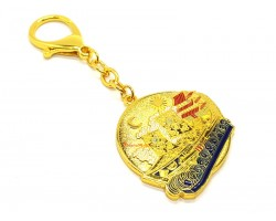 Wealth Ship Amulet Keychain