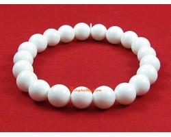 White Coral Crystal Bracelet