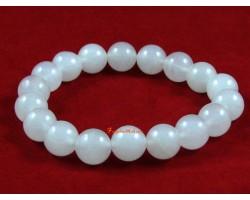 White Jade Crystal Bracelet