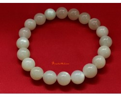 White Moonstone Crystal Bracelet