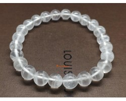 White Phantom Quartz Bracelet