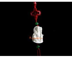White Shell Guan Gong Hanging