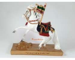 White Victory Horse