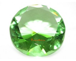 Wishfulfilling Jewel (Light Green) for Good Income and Success 80mm