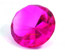 Wishfulfilling Jewel (Fuchsia Pink) for Recognition and Love 80mm