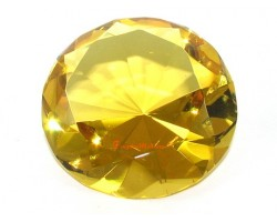 Wishfulfilling Jewel (Yellow) for Prosperity and Abundance 80mm