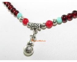 Wu Lou Beaded Necklace