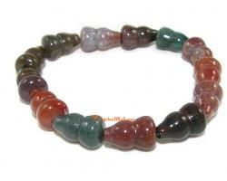 Wu Lou Bloodstone Crystal Bracelet