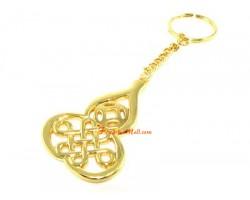 Wu Lou with Mystic Knot Keychain