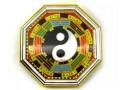 Golden Feng Shui Bagua L (Hologram)